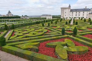 (photo internet)Villandry un décor royal de rêve pour des costumés vénitiens...